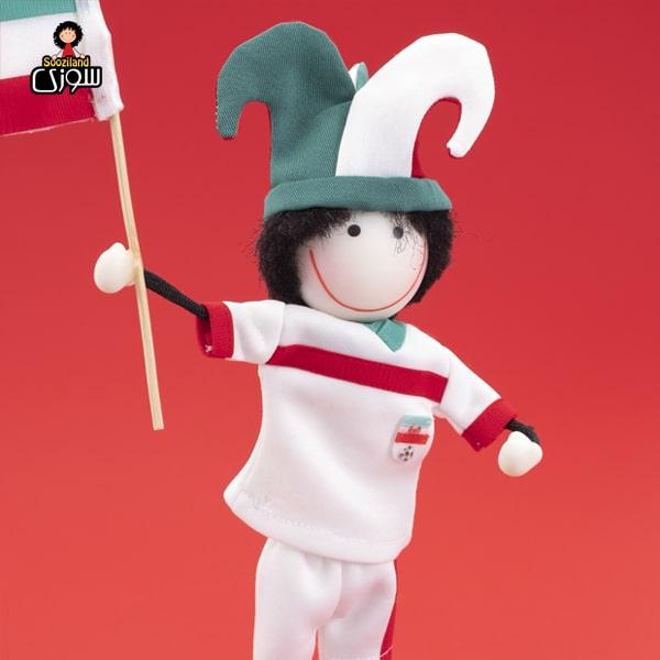 عروسک سوزی فوتبالیست مدل آرات