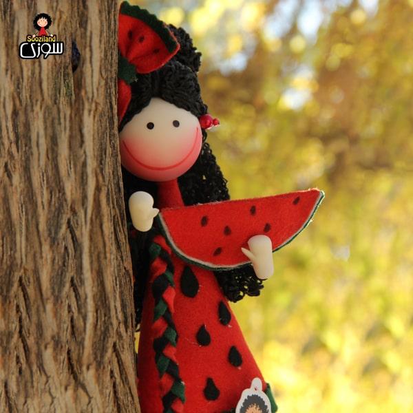 عروسک سوزی خوشحال مدل یلدا