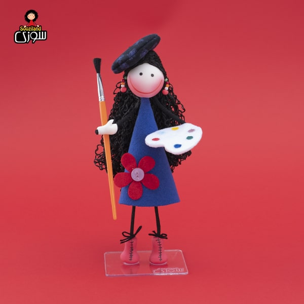 عروسک سوزی نقاش مدل میشا