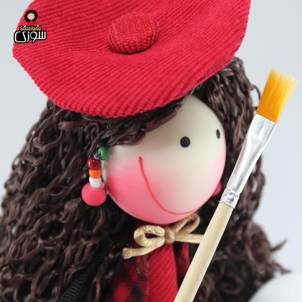 عروسک سوزی نقاش مدل میتا