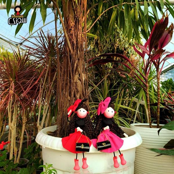 عروسک سوزی کلاسیک مدل ژیکان