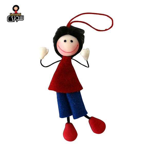 عروسک سوزی آویز مدل نویان و نیلا بسته 2 عددی