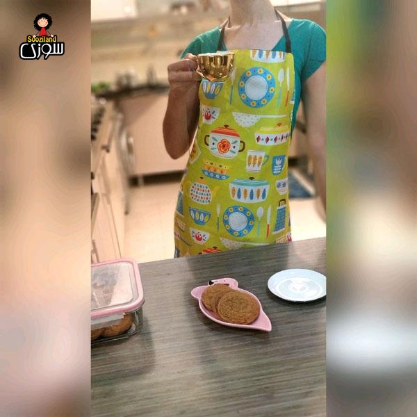پیش بند آشپزخانه سوزی کد 1030