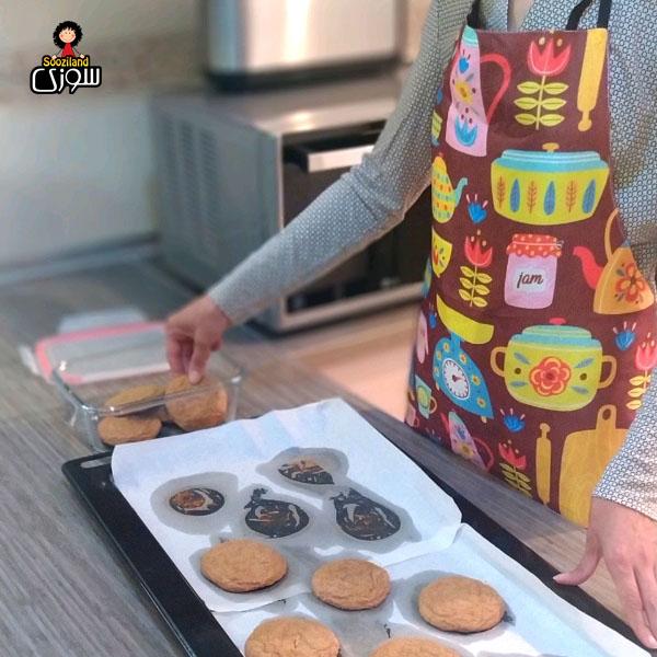 پیش بند آشپزخانه سوزی کد 1040
