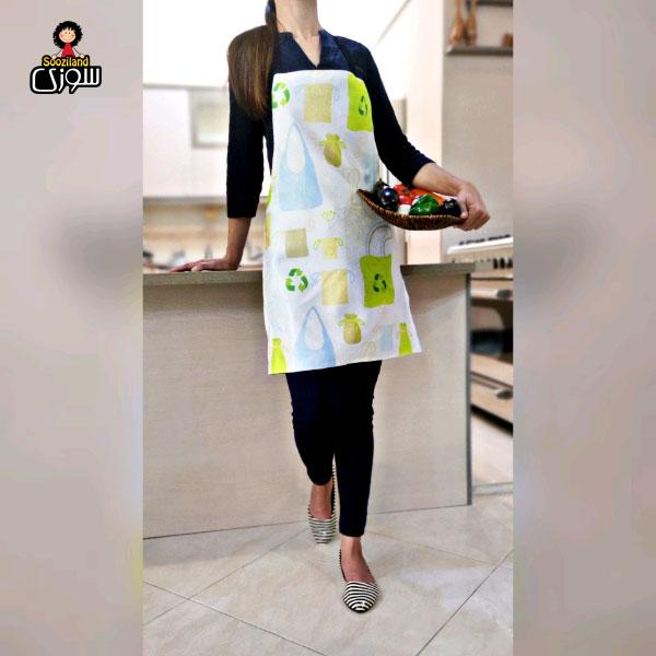 پیش بند آشپزخانه سوزی کد 1050