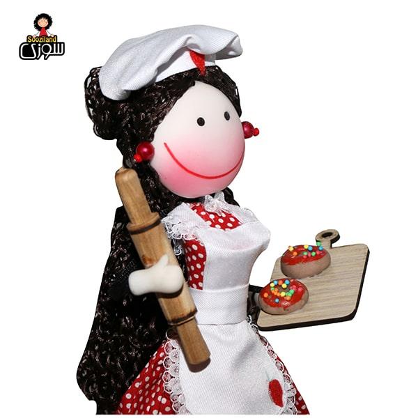 عروسک سوزی آشپز مدل بارلی