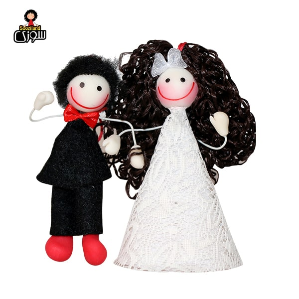 عروسک سوزی آویز مدل عروس