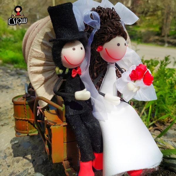 عروسک سوزی عروس مدل درنا