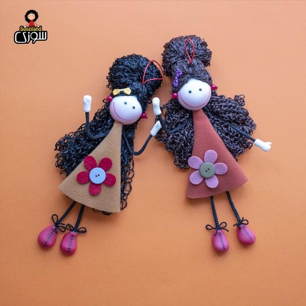 عروسک سوزی آویز مدل آیلی