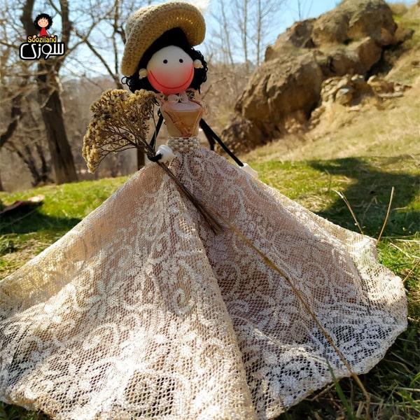 عروسک سوزی عروس مدل لاوین