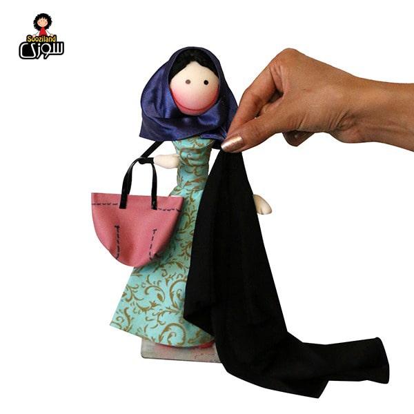 عروسک سوزی حجاب دار مدل ونوشه
