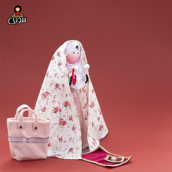 عروسک سوزی حجاب دار مدل دلینا