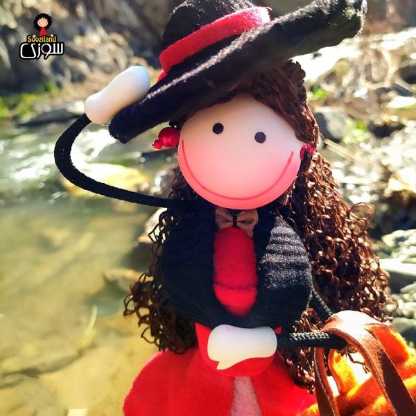 عروسک سوزی خوشحال مدل ویانا
