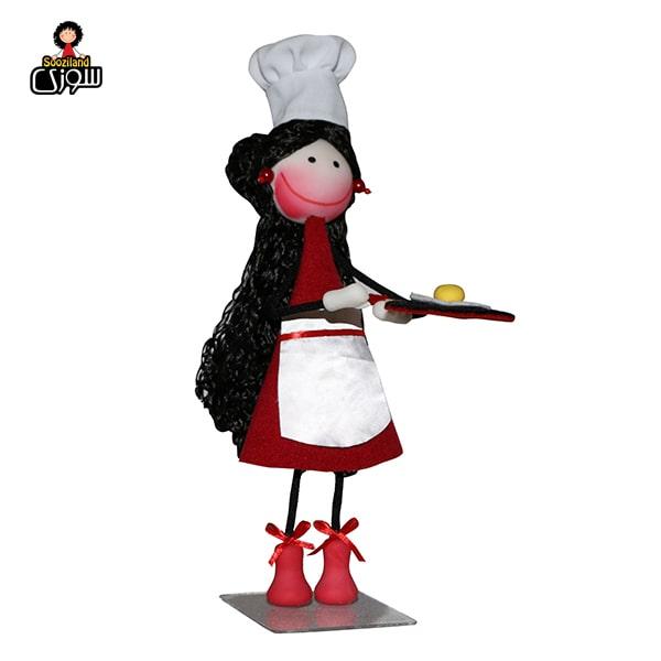 عروسک سوزی آشپز مدل بژانه