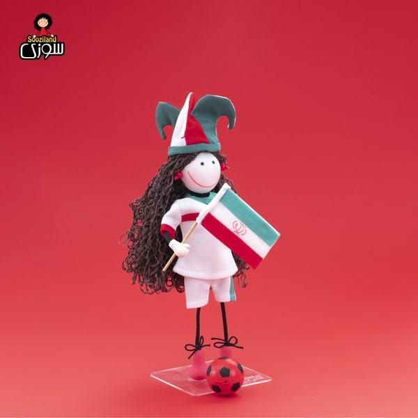 عروسک سوزی فوتبالیست مدل آماندا