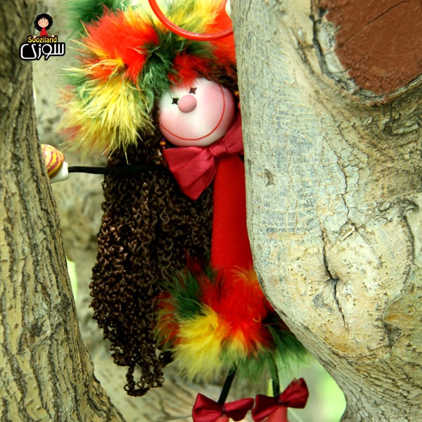 عروسک سوزی خوشحال مدل شادلین