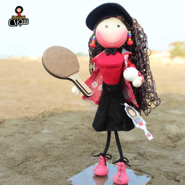 عروسک سوزی ورزشکار مدل ماریا